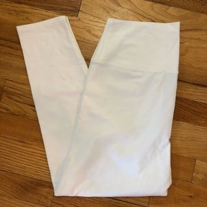 Nordstrom Hi-Rise White Leggings Size Large 209